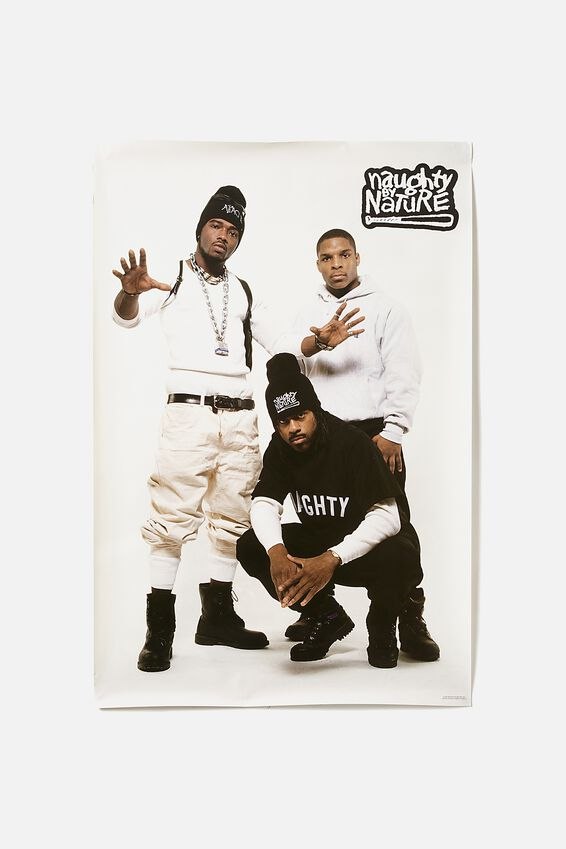Naughty By Nature Poster, LCN MT NAUGHTY BY NATURE