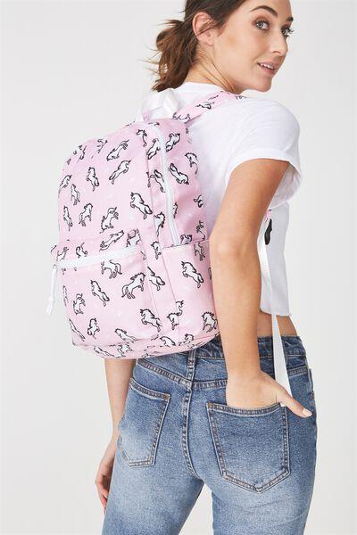 Student Backpack, UNICORN YARDAGE