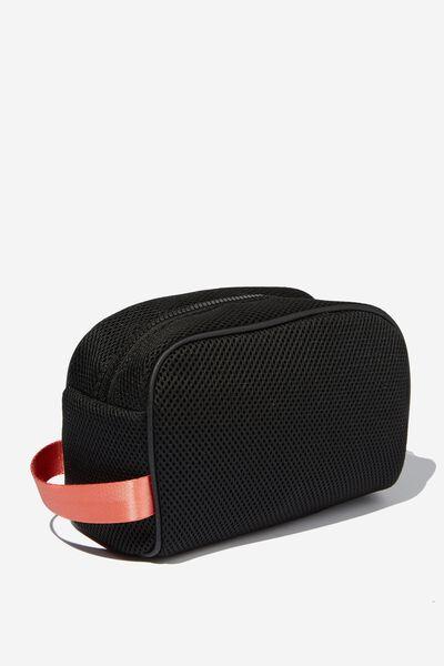 Active Wash Bag, BLACK MESH