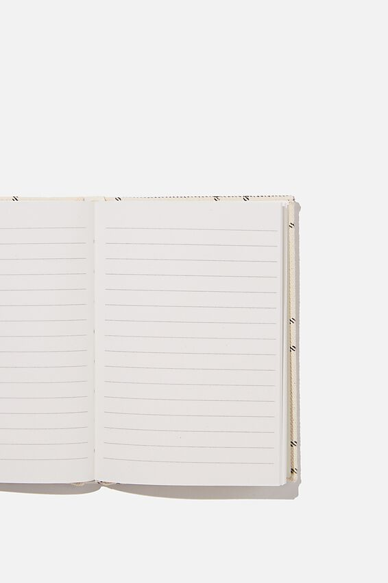 A6 Oxford Notebook, DASHED GRID
