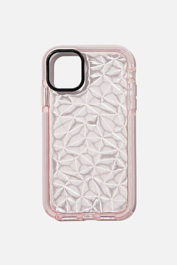 Snap On Protective Phone Case Iphone 11, CLEAR DIMOND TEXTURE