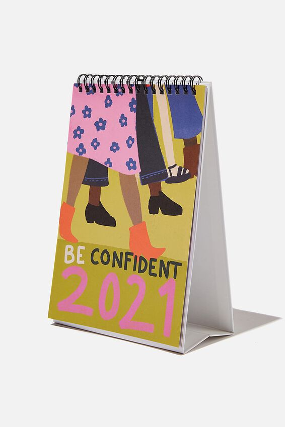 2021 Get A Date Flip Calendar, BE CONFIDENT