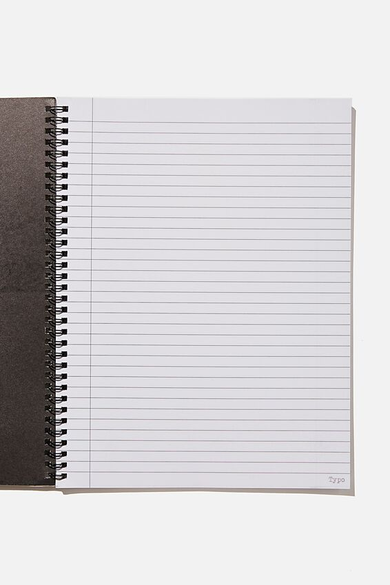 A4 Spinout Notebook Recycled, RG UK CANT BE ARSED!