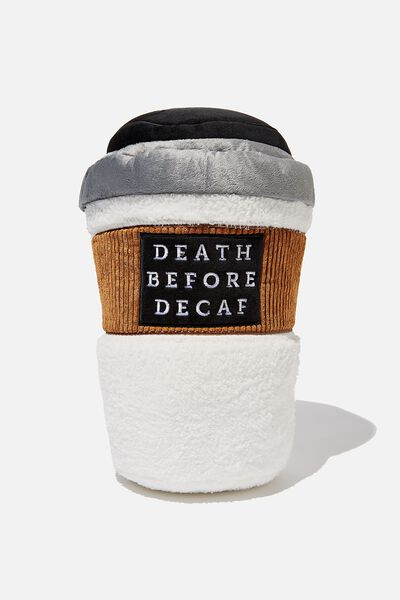 Get Cushy Cushion, COFFEE CUP