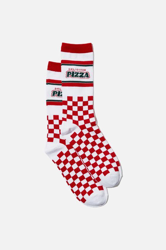 Socks, DELICIOUS PIZZA