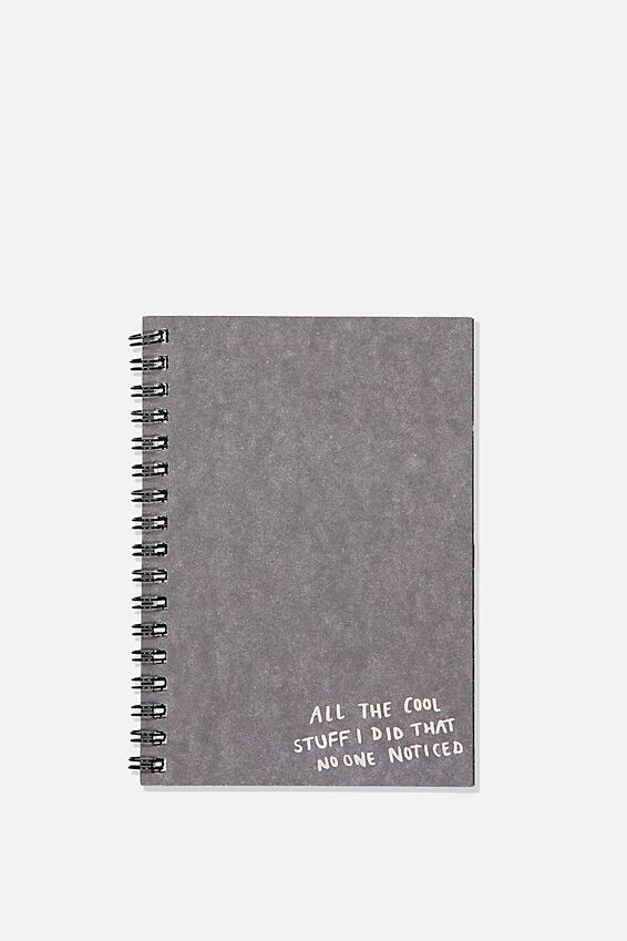 A6 Spinout Notebook, NO ONE NOTICED