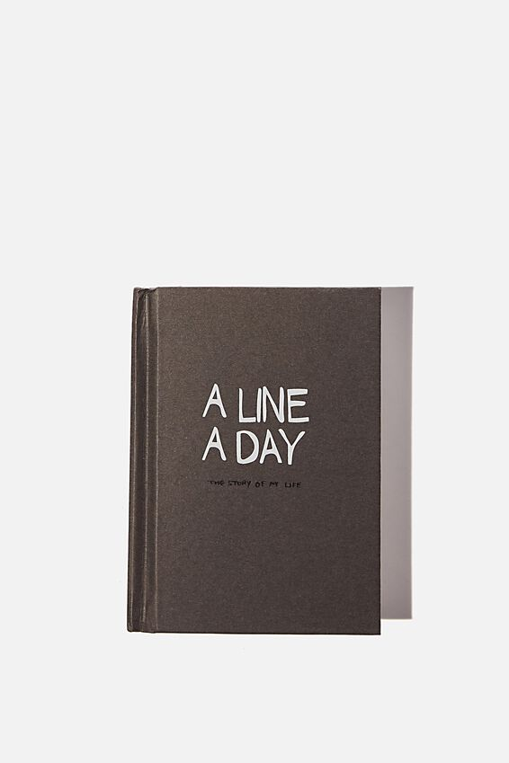 Mini Activity Journal, A LINE A DAY FOR 5 YEARS