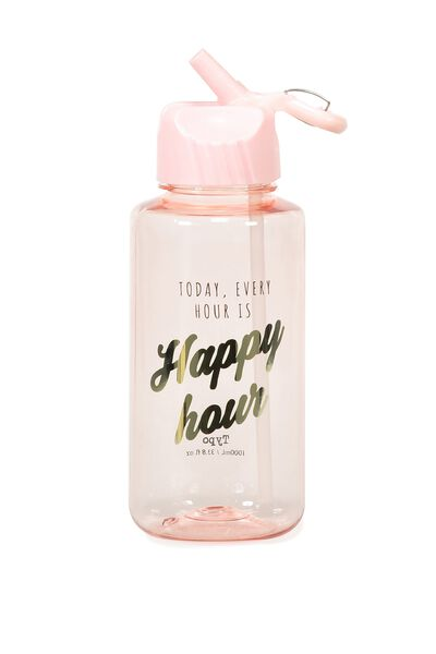 Suck It Up Drink Bottle, EVERY HOUR HAPPY HOUR
