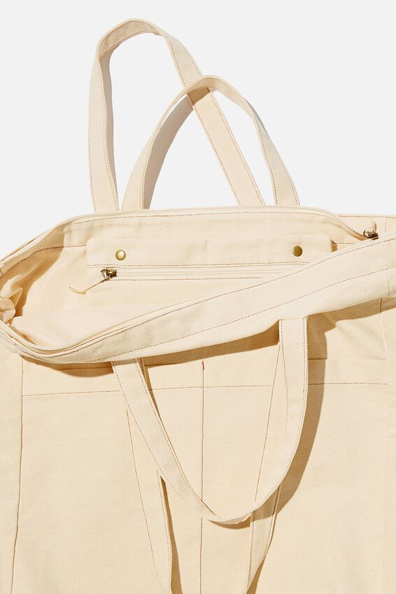 The Studio Tote Bag, NATURAL