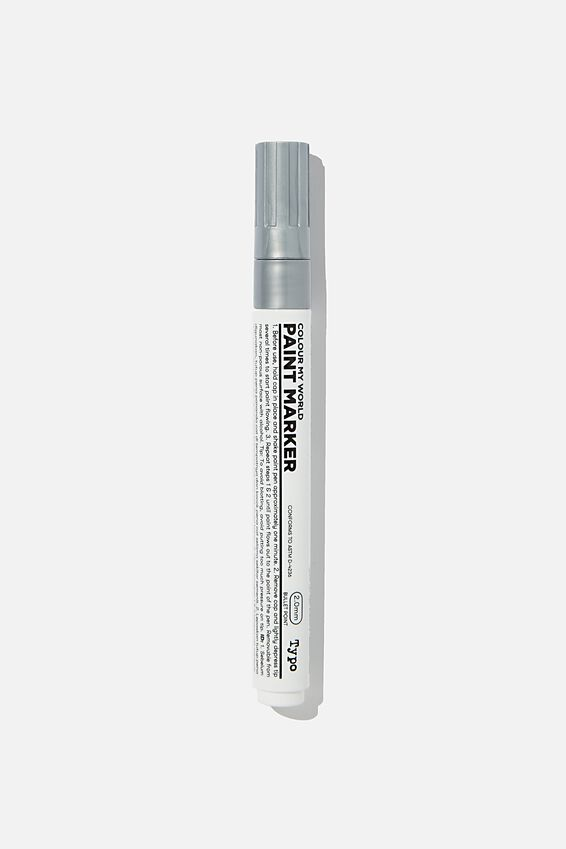 Colour My World Paint Marker, SILVER