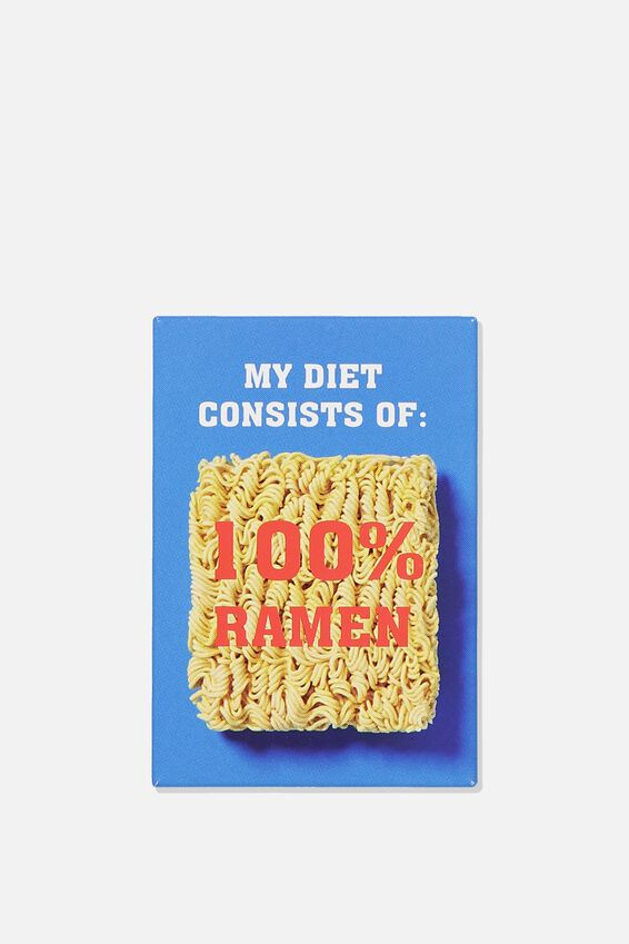 Quirky Magnets, 100% RAMEN