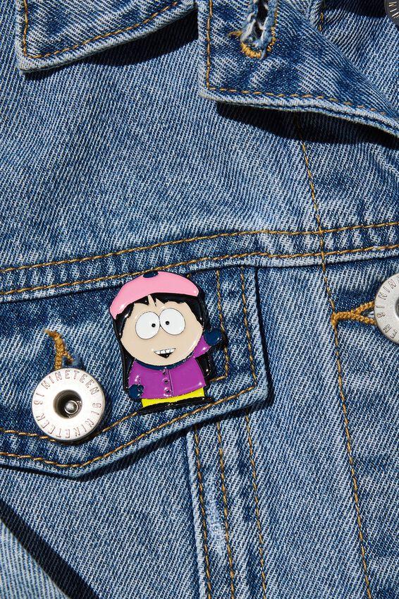 South Park Enamel Badge, LCN SOU SOUTH PARK WENDY
