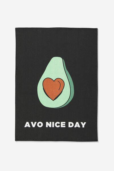 Tea Towel, AVO NICE DAY
