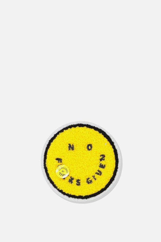 Fabric Badge, NO F*CKS!!