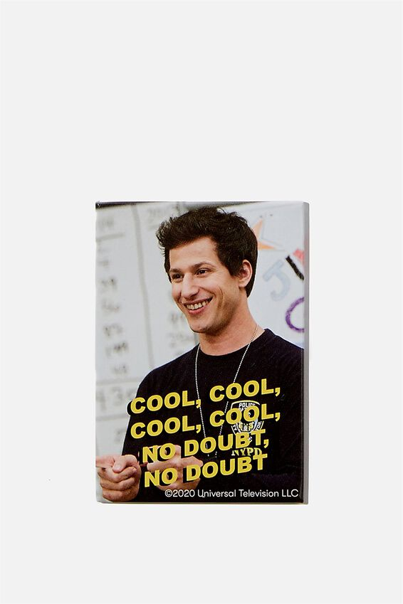 Brooklyn Nine-Nine Quirky Magnet, LCN UNI BR BROOKLYN NINE NINE COOL