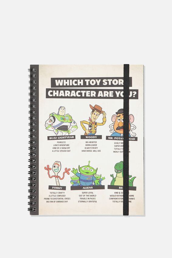 A5 Toy Story Spinout Notebook - 120 Pages, LCN DIS TOY STORY