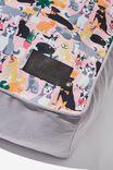 Large Printed Pet Bed, DOGGO PRINT