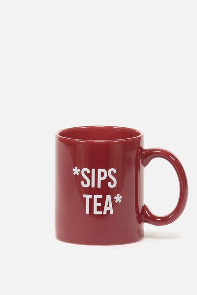 Anytime Mug, SIPS TEA