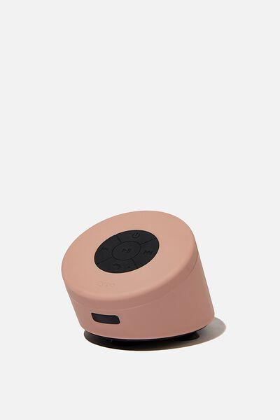 Wireless Shower Speaker, PREMIUM A.T. NUDE PINK
