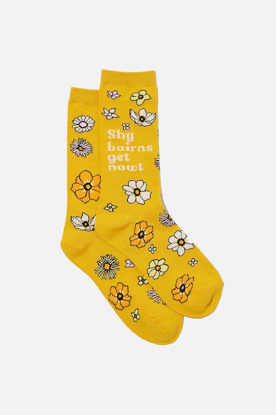 Socks, SHY BAIRNS GET NOWT