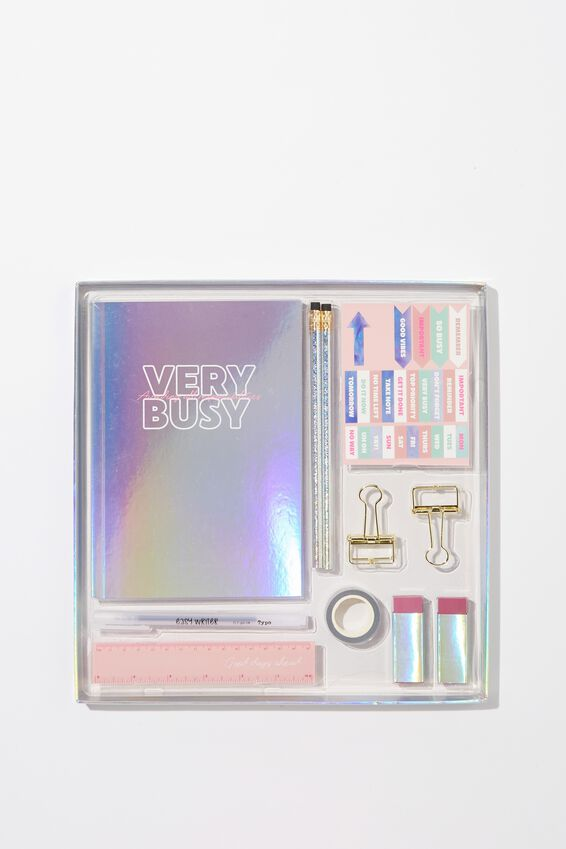 Dot Journal Gift Set, HOLOGRAPHIC DO YOUR OWN THING