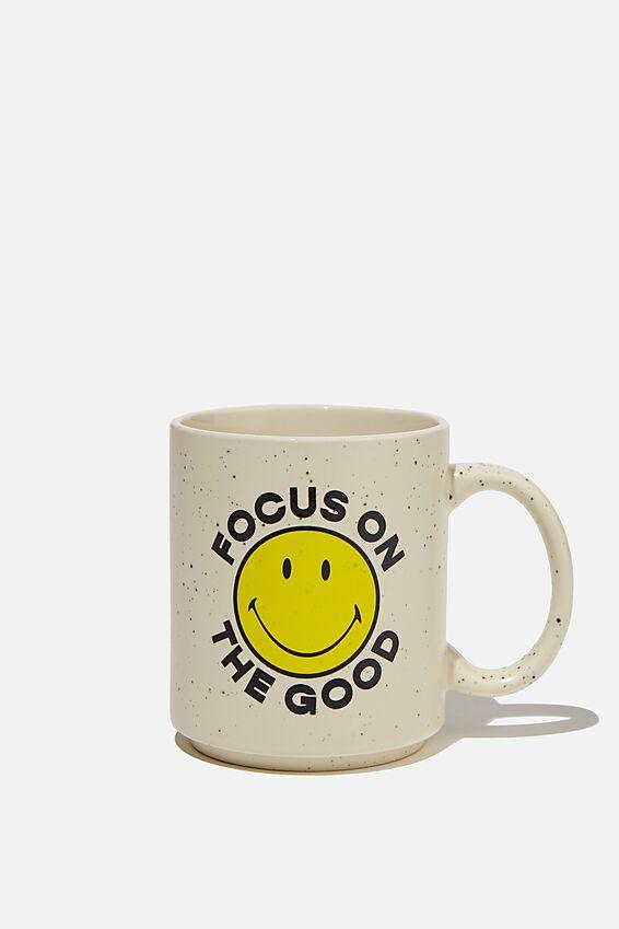 Smiley Daily Mug, LCN SMI FOCUS ON GOOD