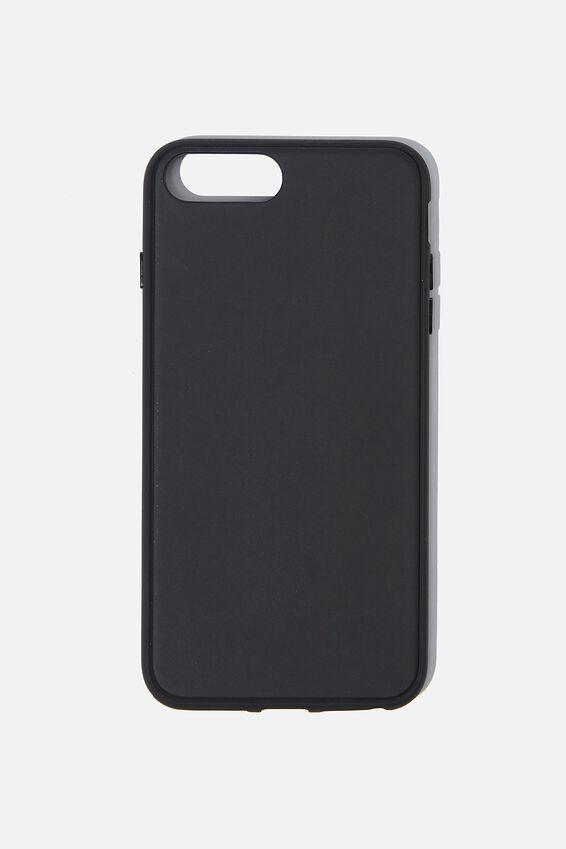 Snap On Protective Phone Case 6,7,8,Se Plus, MATTE BLACK