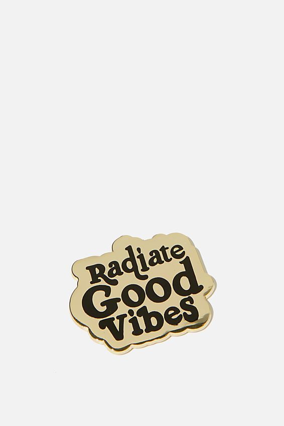 Enamel Stickers, GOOD VIBES