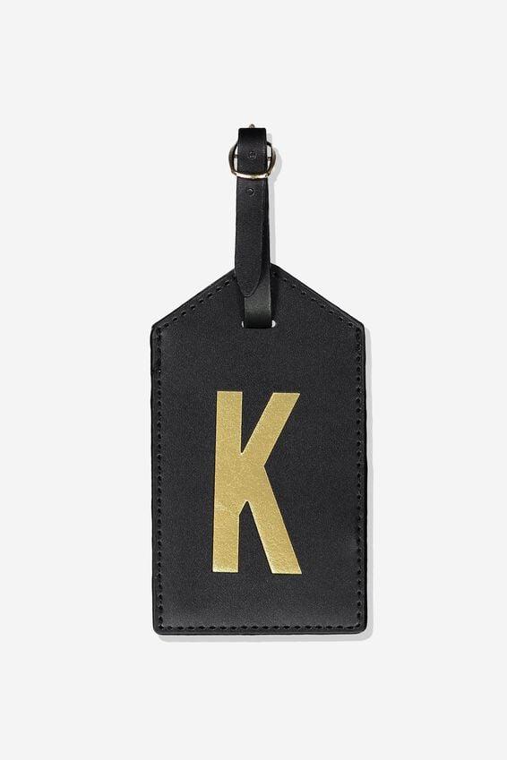 Alpha Luggage Tag, K