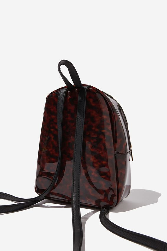 Mini Cairo Backpack, TORTOISE SHELL