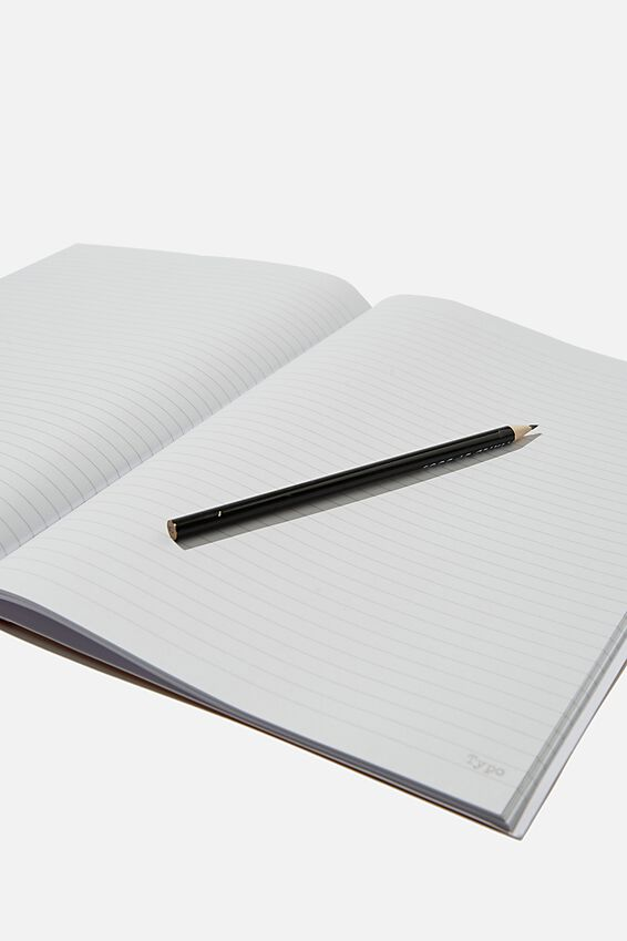 A4 Academy Notebook, NO PLANET B