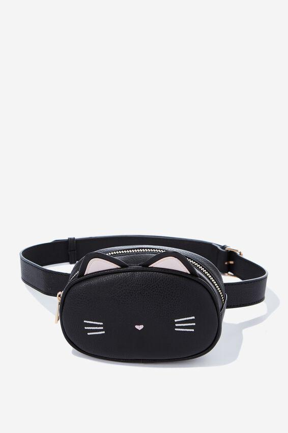 Belt Bag, NOVELTY CAT