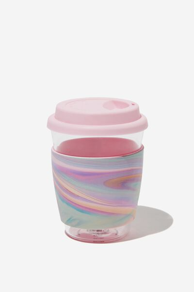 All Day Travel Cup 12Oz, RAINBOW MARBLE