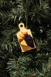 Resin Christmas Ornament, CHEESE BOARD