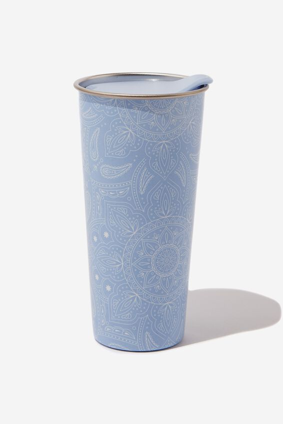 The Sipper Travel Mug, MANDALA LACE