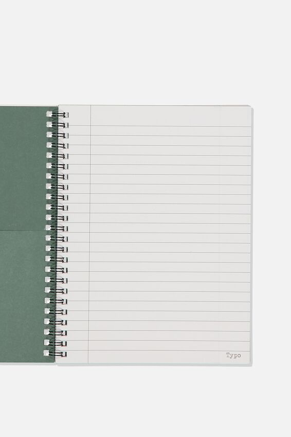 A5 Spinout Notebook Recycled, YOGA