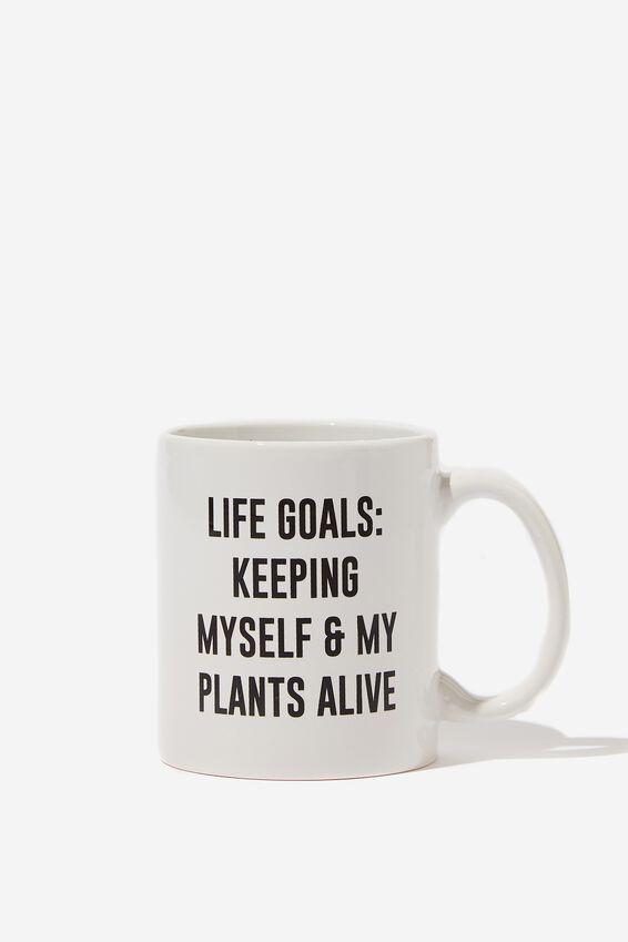 Anytime Mug, LIFE GOALS