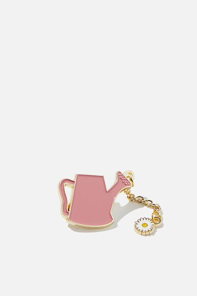 Enamel Badges, CHAIN WATERING CAN