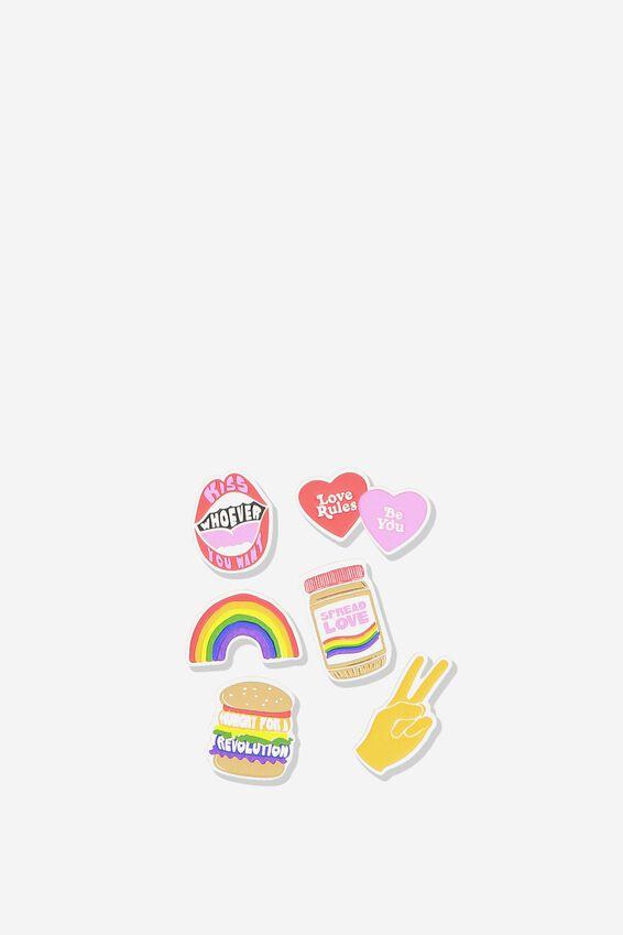 Plush Sticker Pack, LOUD & PROUD