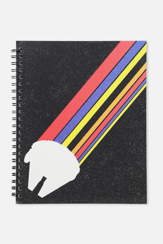 Star Wars A4 Campus Notebook, LCN MILLENIUM FALCON