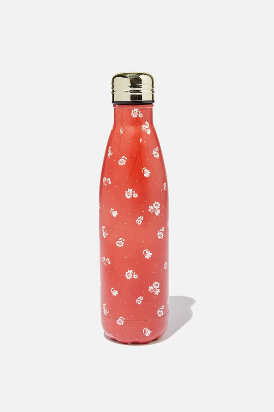 Metal Drink Bottle, FLORENCE FLORAL