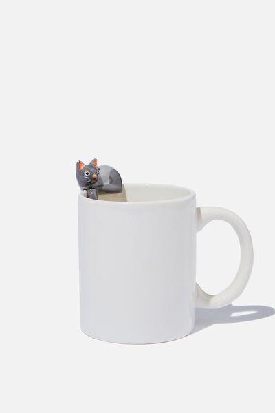 Novelty Shaped Mug, MINI CAT