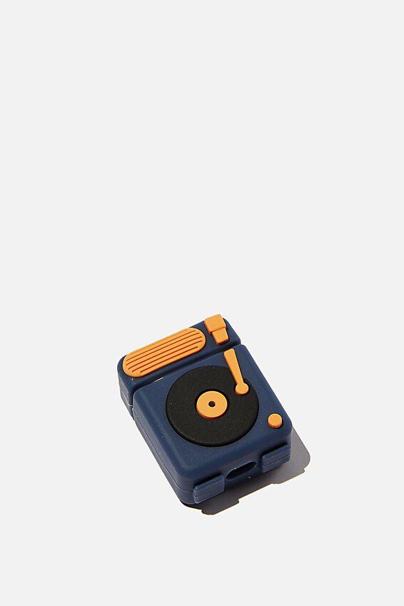 Ear Bud Sleeve, RECORD PLAYER