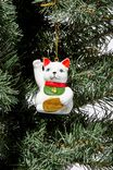 Christmas Ornament, LUCKY CAT
