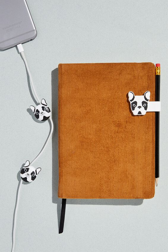 Novelty Cable Tidy, FRENCH BULLDOG