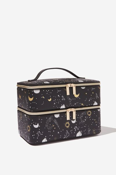 St Tropez Beauty Case, CONSTELLATION PRINT