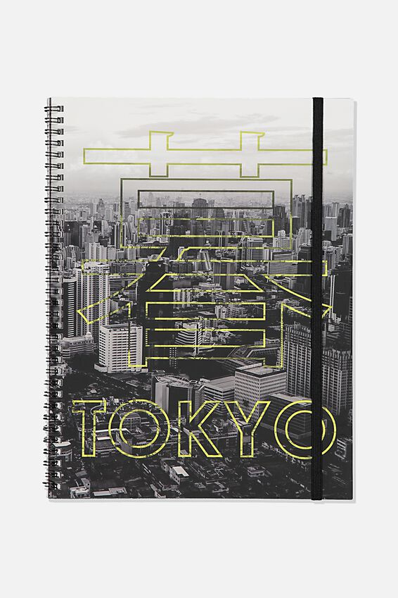 A4 Spinout Notebook Recycled, TBAR TOKYO