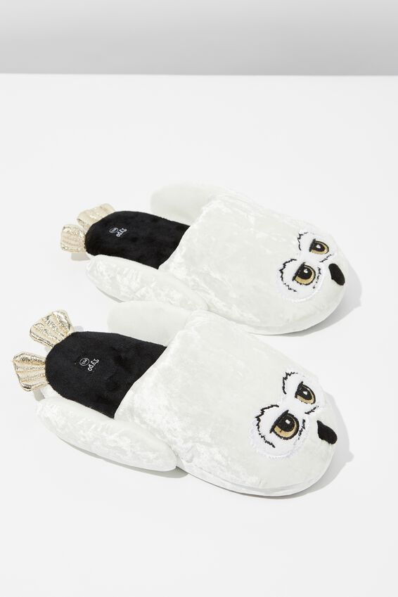 Harry Potter Novelty Slippers, LCN HP HEDWIG