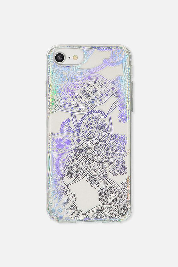 Printed Phone Cover Universal 6,7,8, IRIDESCENT LACE