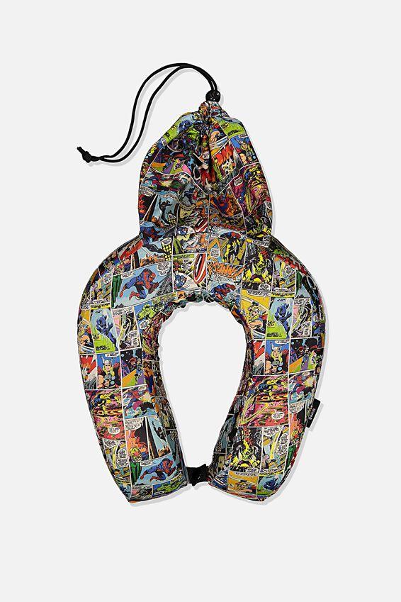 Marvel Travel Neck Pillow, LCN MAR MARVEL YARDAGE